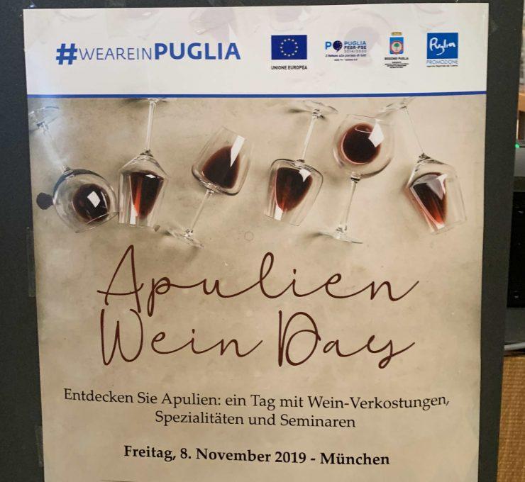 Apulien Wine day in Munich